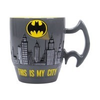 Kubek Batman Embossed City Scene Kubki GB eye