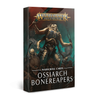 Age of Sigmar: Warscroll Cards Ossiarch Bonereapers