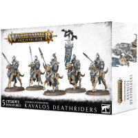 Age of Sigmar: Kavalos Deathriders Ossiarch Bonereapers Games Workshop