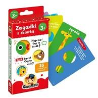 Zagadki CzuCzu z dziurką 3+ Gry dla Dzieci Bright Junior Media