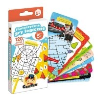 Fantastyczne gry logiczne 5+ Gry dla Dzieci Bright Junior Media
