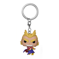 Funko POP Keychains: My Hero Academia - All Might (Silver Age)