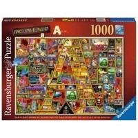 Puzzle 1000 el. Colin Thompson - Wspaniały alfabet A Inspiracje Ravensburger