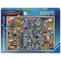Puzzle 1000 el. Colin Thompson - Wspaniały alfabet B Inspiracje Ravensburger