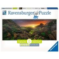 Puzzle 1000 el. Słońce nad Islandią Pejzaże Ravensburger