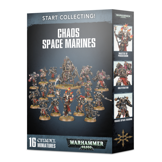 Warhammer 40000: Start Collecting! Chaos Space Marines