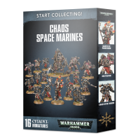 Warhammer 40000: Start Collecting! Chaos Space Marines Chaos Space Marines Games Workshop