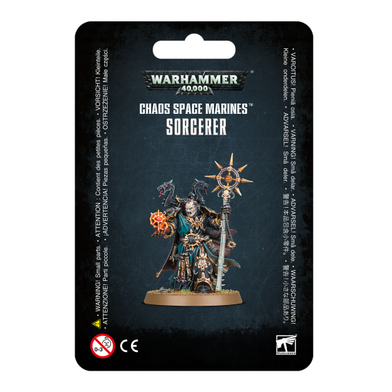 Warhammer 40000: Chaos Space Marines Sorcerer Chaos Space Marines Games Workshop