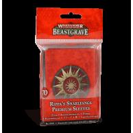 Warhammer Underworlds: Beastgrave – Rippa's Snarlfangs Premium Sleeves Warhammer Underworlds Games Workshop