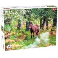 Puzzle 1000 el. Wild Horses, New Forest