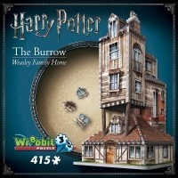 Puzzle 3D 415 el. Harry Potter The Burrow