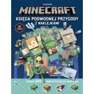 Minecraft. Księga podwodnej przygody z naklejkami