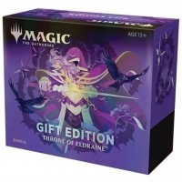 2w1 Bundle +Collector Booster GIFT BOX Throne of Eldraine Magic The Gathering TCG Wizards of the Coast