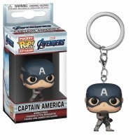 Funko POP Keychains: Marvel - Endgame - Captain America Funko - Marvel Funko - POP!