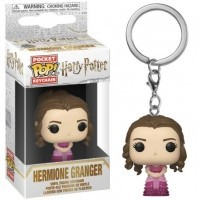 Funko POP Keychain: Harry Potter - Hermione (Yule Ball) Funko - Harry Potter Funko - POP!