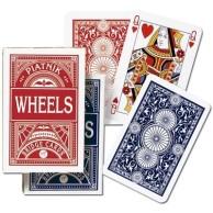 Karty brydżowe 1392 Wheels red