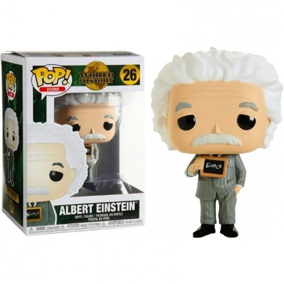 Figurka Funko POP Icons: Albert Einstein Funko - Icons Funko - POP!