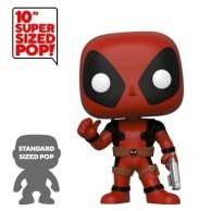 """Funko POP Marvel: 10\\"""" Deadpool - Thumb Up Red Deadpool"""