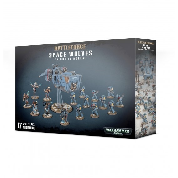 Warhammer 40000: Space Wolves Talons of Morkai Space Wolves Games Workshop