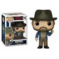 Funko POP TV: Stranger Things - Hopper z latarką