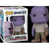 Funko POP Marvel: Endgame - Casual Thanos w/Gauntlet
