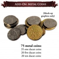 Europa Universalis: The Price of Power - Zestaw metalowych monet Przedsprzedaż Aegir Games