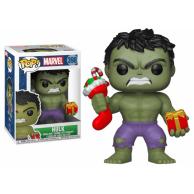 Funko POP Marvel Holiday Hulk z prezentem i świąteczną skarpetą