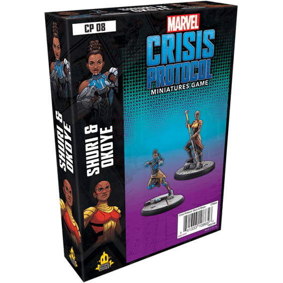 Marvel: Crisis Protocol - Shuri and Okoye Marvel: Crisis Protocol Fantasy Flight Games