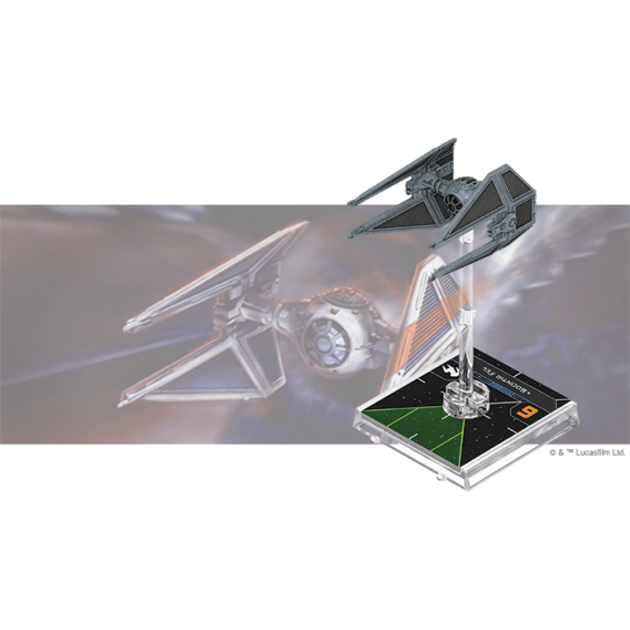 X-Wing 2nd ed.: TIE/in Interceptor Expansion Pack VI Fala eng Fantasy Flight Games