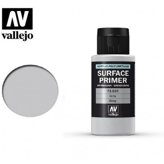 Farba Vallejo 73.601 Surface Primer 60 ml. Grey Surface Primer Vallejo