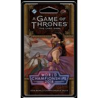 A Game of Thrones LCG SE: 2018 World Championship Deck Other decks Fantasy Flight Games
