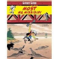 Lucky Luke - 63 - Most na Missisipi Komiksy pełne humoru Egmont