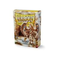 Koszulki na karty Dragon Classic - kość słoniowa - 60 szt.