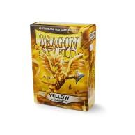 Koszulki na karty Dragon Classic - żółte - 60 szt.