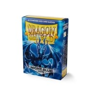 Koszulki na karty Dragon Matte - night blue - 60 szt.