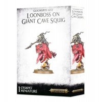 Age of Sigmar: Loonboss on Giant Cave Squig Gloomspite Gitz Games Workshop