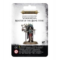Age of Sigmar: Vokmortian, Master of the Bone-tithe Ossiarch Bonereapers Games Workshop