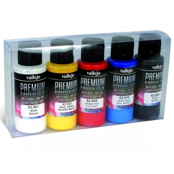 Vallejo PREMIUM Color - Opaque Color Set (5x60ml) Zestawy Vallejo