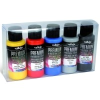 Vallejo PREMIUM Color - Metallics Color Set (5x60ml) Zestawy Vallejo