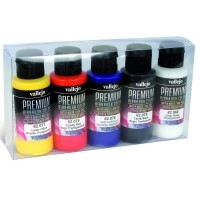 Vallejo PREMIUM Color - Candy Color Set (5x60ml) Zestawy Vallejo