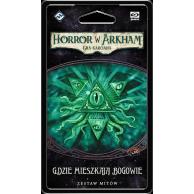 Horror w Arkham LCG: Gdzie mieszkają bogowie Pożeracze snów Galakta