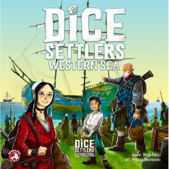 Dice Settlers: Western Sea expansion Pozostałe gry Board&Dice