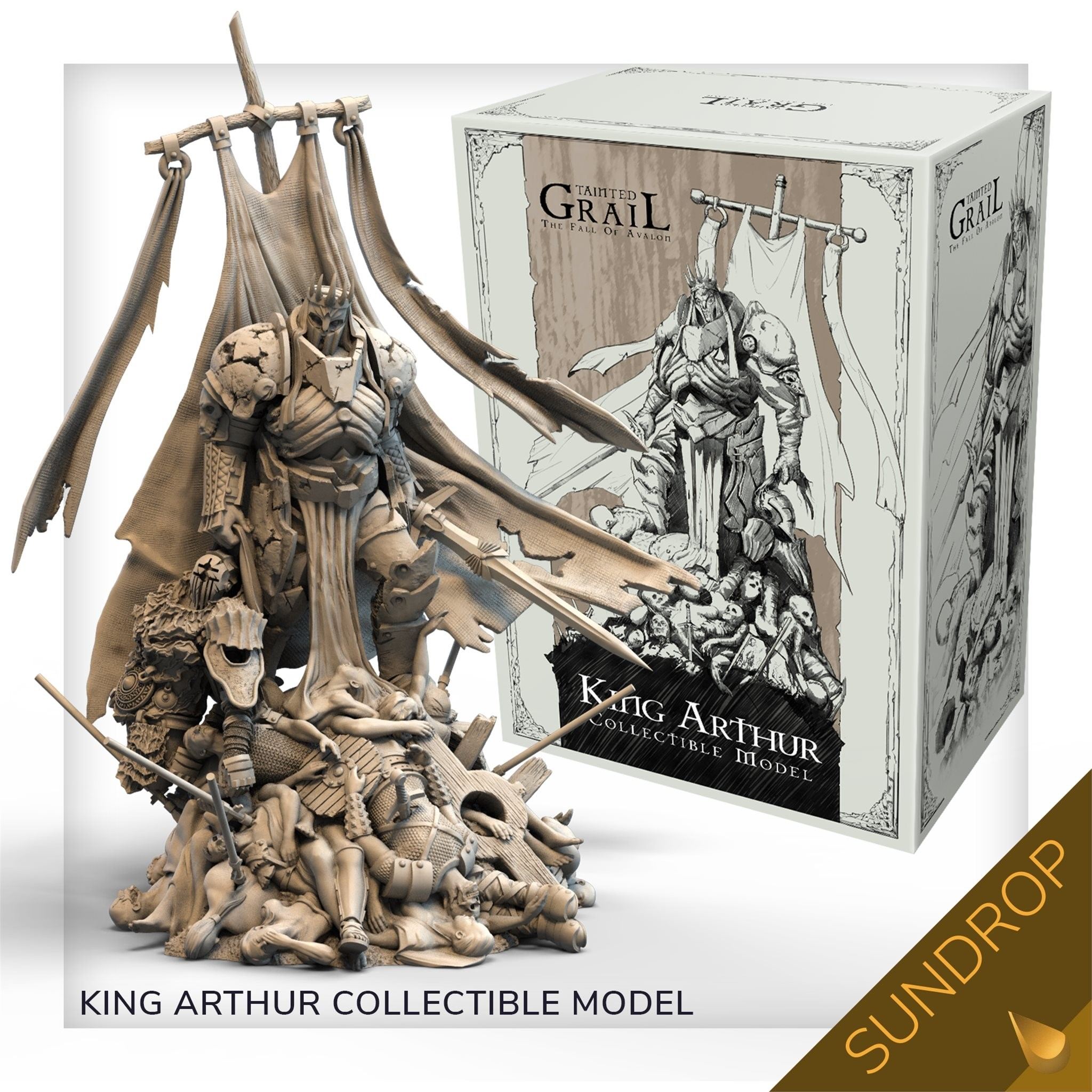 Tainted Grail: The Fall of Avalon King Arthur (Plastic) Sundrop