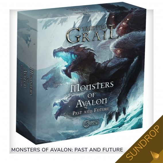 Tainted Grail: The Fall of Avalon - Monsters Of Avalon: Past And The Future (Sundrop) PL Przedsprzedaż Awaken Realms