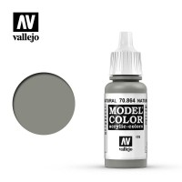 Farba Vallejo Model Color 178 - 864 -17 ml. Natural Steel