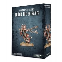 WARHAMMER 40000: World Eaters Kharn the Betrayer Chaos Space Marines Games Workshop