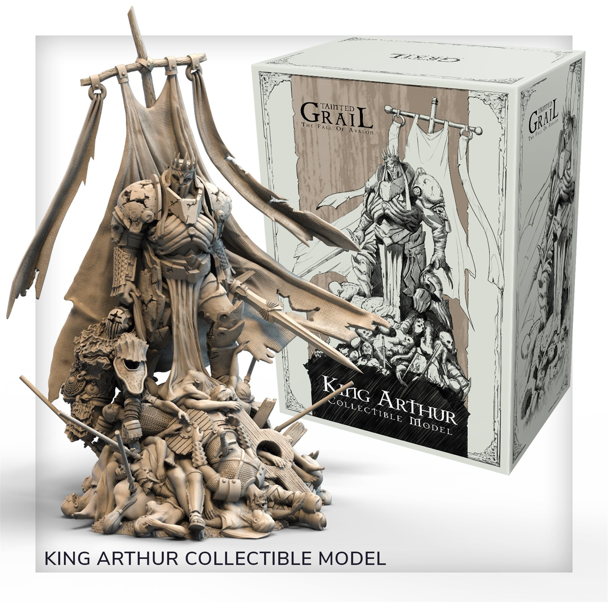 Tainted Grail: The Fall of Avalon King Arthur (Plastic)