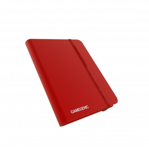 Gamegenic Casual Album 8-Pocket - Red Gamegenic Gamegenic