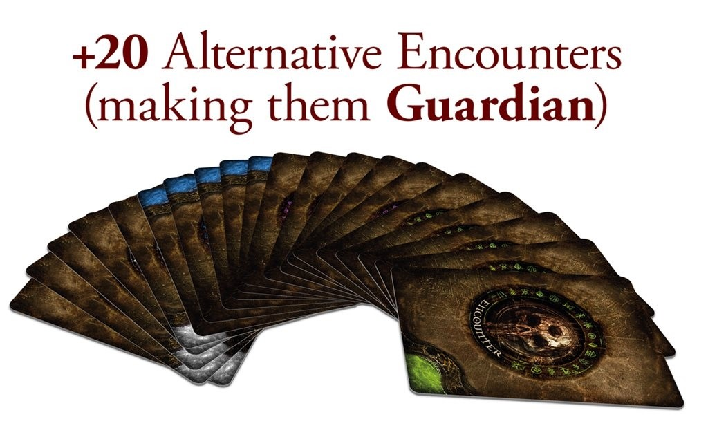 Tainted Grail: The Fall of Avalon Past And Future Alternative Encounters Card Pack