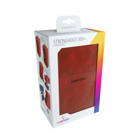 Gamegenic Stronghold 200+ Convertible - Red Gamegenic Gamegenic